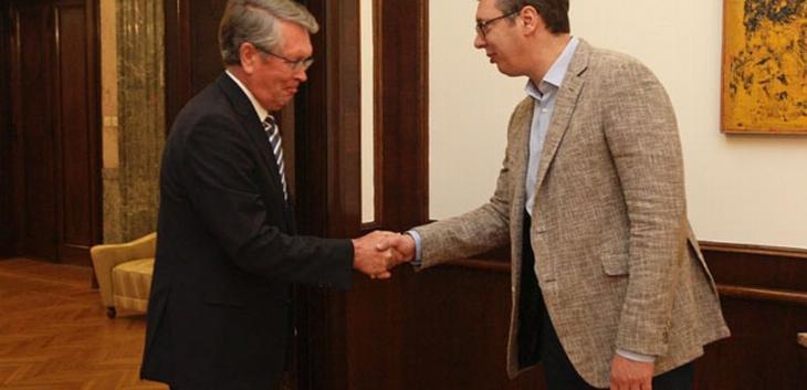 Vučić sa Čepurinom: Putinova poseta potvrdila međusobno poverenje
