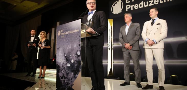 Osnivač Lagune dobitnik prestižnog priznanja EY Preduzetnik godine