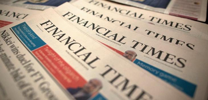 """Izveštaj časopisa """"Financial times"""""""