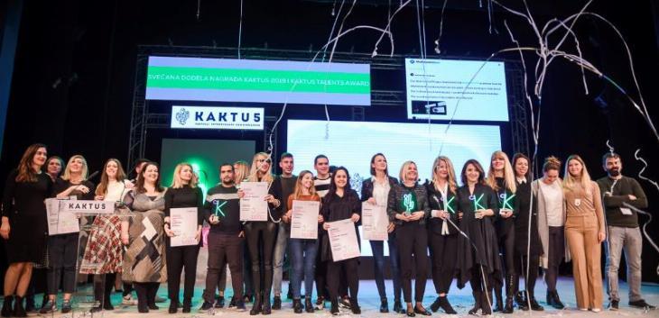 Dodeljene nagrade #kaktus2019