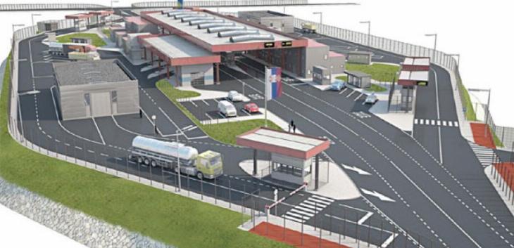 Počela izgradnja novog graničnog prelaza Srbije i BIH