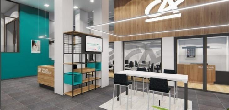 Crédit Agricole banka otvorila jednu od najmodernijih filijala u Kraljevu