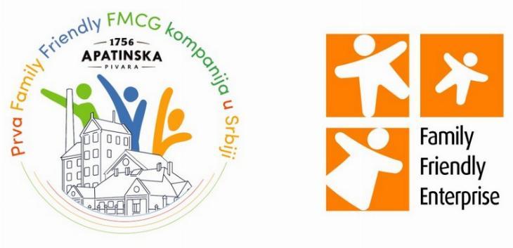 """Apatinska pivara prva """"Family friendly kompanija"""" u Srbiji u sektoru robe široke potrošnje"""