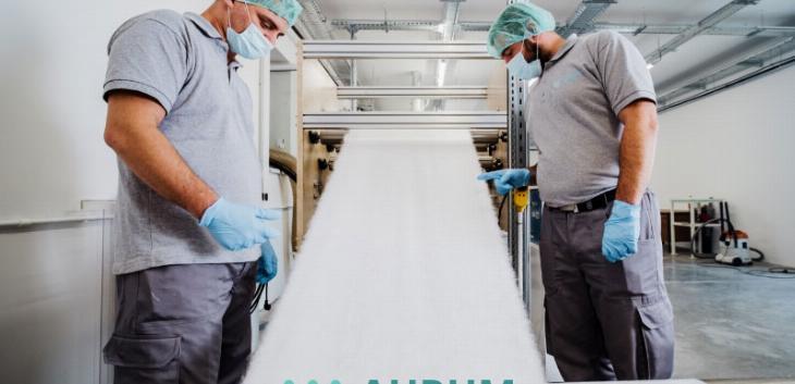 Aurum textile u Odžacima proizvodi netkani tekstil koji je srce zaštitnih maski