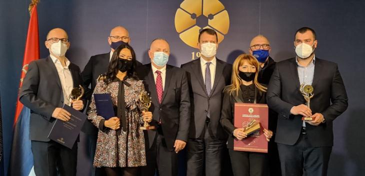 Privredna komora Vojvodine obeležila 102. godine postojanja – dodeljene godišnje nagrade