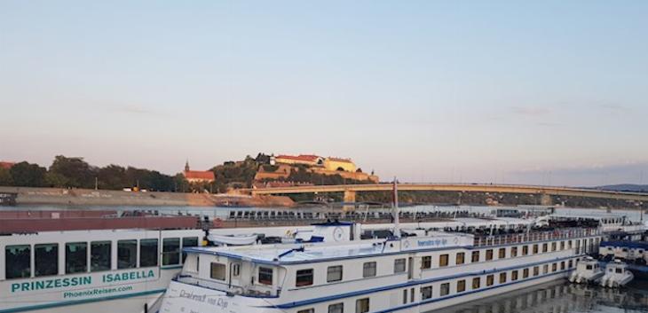 Novi putnički terminal na Dunavu u Novom Sadu