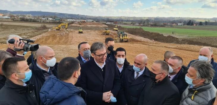 Vučić: Gradnja autoputa Beograd-Zrenjanin počinje sledeće godine