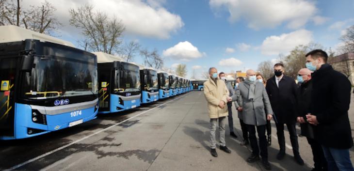 Novi i moderni autobusi od danas na ulicama Novog Sada