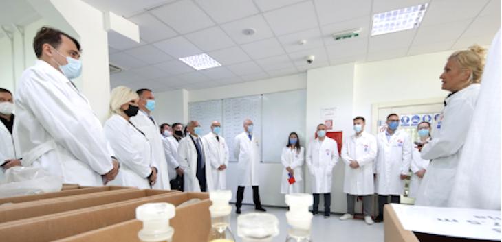 U Novom Sadu predstavljen Naučno-tehnološki centar kompanije NIS