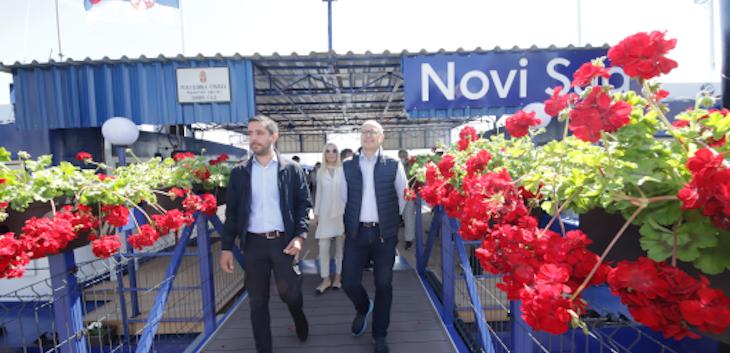 U Novom Sadu otvoren rekonstruisani rečni putnički terminal