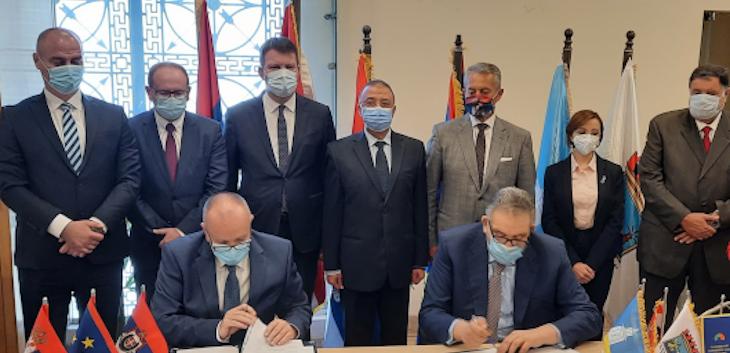 Potpisan Sporazum o saradnji između privrednih komora Vojvodine i Aleksandrije